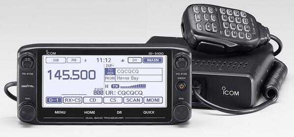 ID-5100 dual band D-STAR mobile